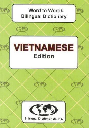 Vietnamese edition Word To Word Bilingual Dictionary pdf epub