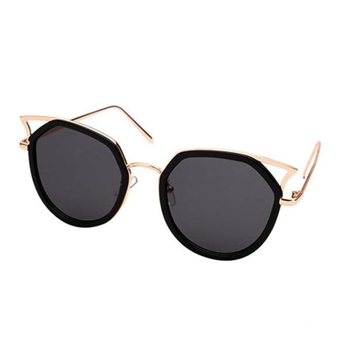 GYFSLG Gafas De Sol Mujer Ojo De Gato Gafas De Sol ...