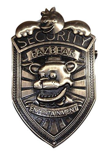 Five Nights At Freddy's Fazbear Entertainment 3″ Tall Metal Pin]()