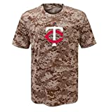 Minnesota Twins Youth Camouflage T-shirt (Youth Large 14/16)
