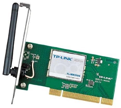 TP-Link TL-WN350G - Adaptador PCI inalámbrico (54 Mbps ...