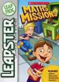 : LeapFrog Leapster Learning Game Scholastic Math Missions, Compatible with Leapster and Leapster2 learning game systems only