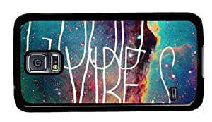 Galaxy Space Good Vibes Theme Samsung Galaxy S5 i9600 Case WANGJING JINDA