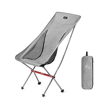 ZMCKD Silla Plegable de Camping Silla portátil Ultraligera ...