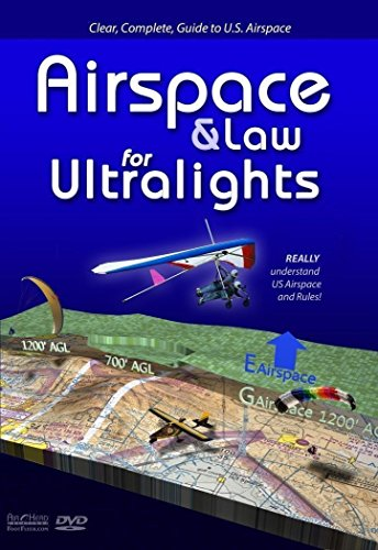 DVD Airspace & Law for Ultralights - Really Understand US Airspace and Rules, Paragliding DVD from DVD Airspace