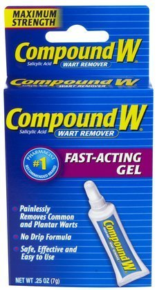 Compound W Wart Remover Gel-0.25 oz (Quantity of 4) ()