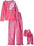 Dollie & Me Little Girls' Zebra Face Sleepwear Set, Pink, 6 offers