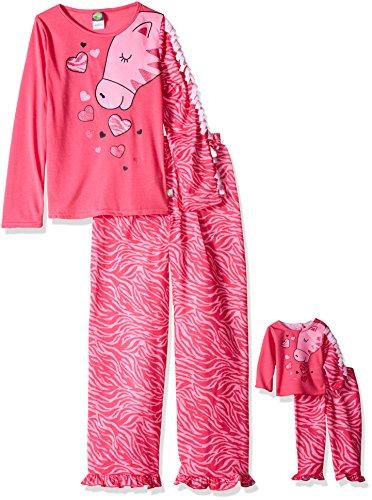Dollie Me Girls Zebra Sleepwear