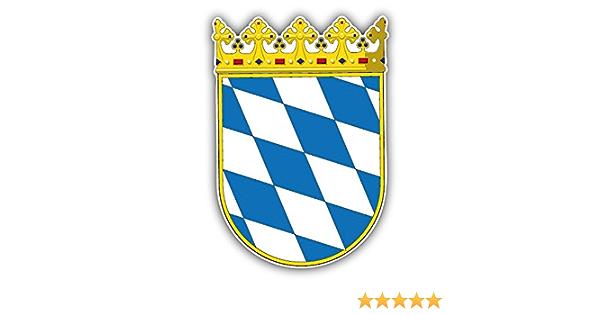 Germany German Coat of Arms bumper sticker 4 x 5