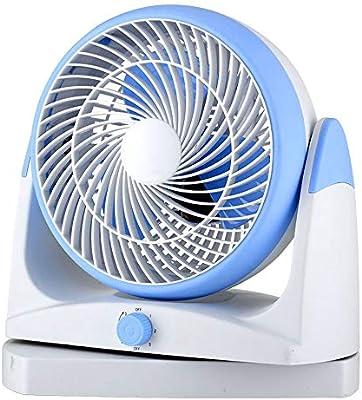 Ventilador Azul De Convección Del Aire De La Turbina De La Cabeza ...