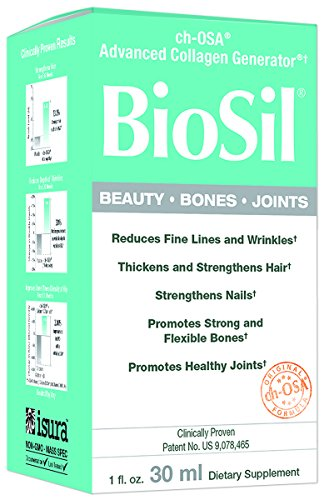 BioSil – Beauty, Bones, & Joints Liquid, Advanced Collagen Support for Hair, Skin, Nails, and Joints, 120 Servings (1 oz) (FFP) 519P4FSdkrL