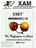 CSET Mathematics 7-12, , 1581973780