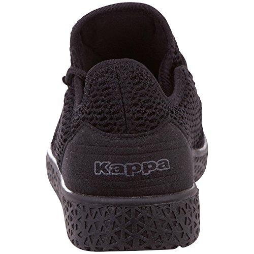 Noir Sneakers Femme black 1111 Oc Kappa Basses Icon xqYEwvX