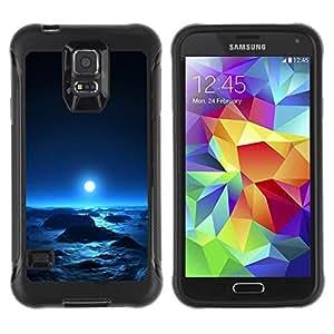 Paccase / Suave TPU GEL Caso Carcasa de Protección Funda para - Space Planet Galaxy Stars 64 - Samsung Galaxy S5 SM-G900