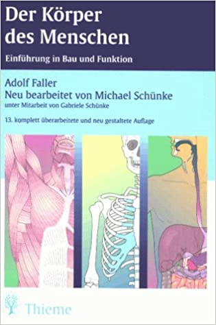 Der Körper des Menschen: Amazon.de: Adolf Faller, Michael Schünke ...
