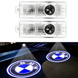 ZNYSTAR 2pcs Car LED Projector Door Lamp Ghost Shadow Welcome Light Courtesy Logo Kit for BMW