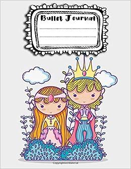 Bullet Journal: A4 - 156 paginas - Princesas - Caballeros ...