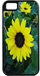 iPhone 4 Case iPhone 4S Case Cases Customized Gifts Cover Yellow Flower Design - Ideal Gift