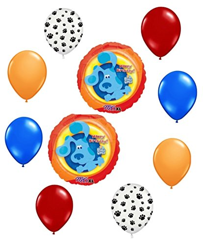 Blues Clues Birthday - Blues Clues Happy Birthday Balloon Decoration Kit