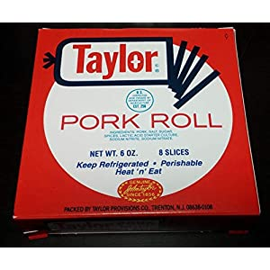 Taylor Pork Roll 6 Ounces Pre-Sliced (12 Pack)