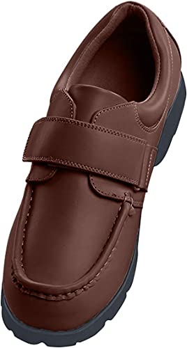 Amazon.com | Men's Velcro Strap Shoes