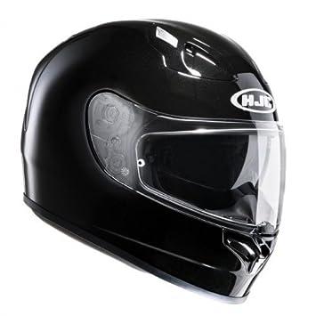 HJC 12703010 Casco de Moto, Negro, Talla XL