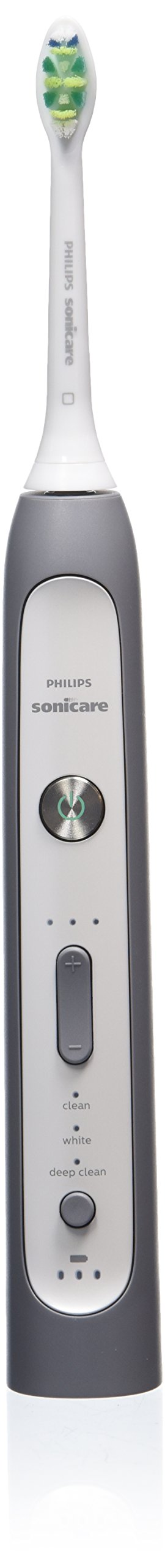 Philips Sonicare FlexCare Platinum rechargeable electric toothbrush, Grey Edition, HX9112
