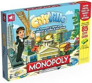 Monopoly Juegos en Familia Hasbro Cityville (Hasbro A2052105): Amazon.es: Juguetes y juegos