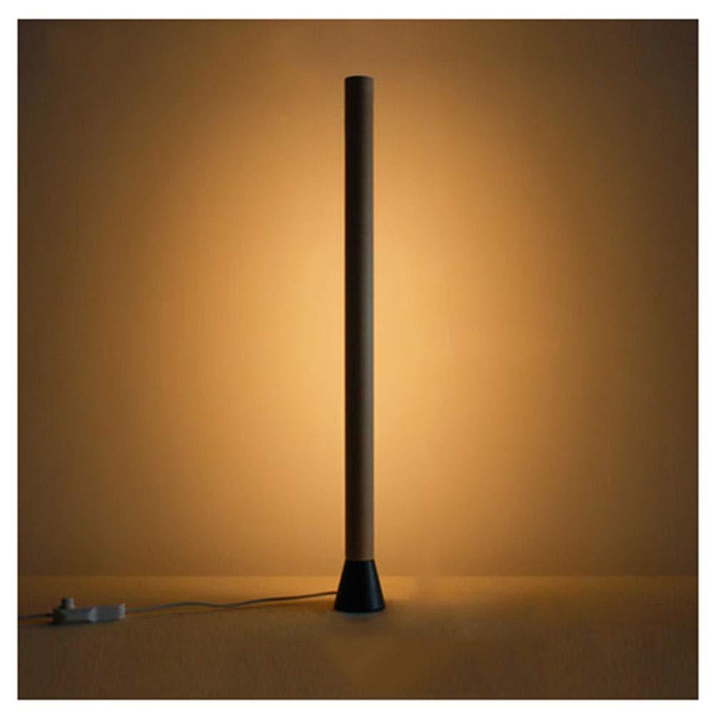 NKDK フロアランプクリエイティブウォールランプリビングルームの寝室シンプルモダンなLED雰囲気ランプ木製テーブルランプ -153 フロアランプ (版 ばん : A) B07QGK2J34  A