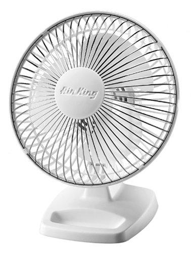 Air King 9102 Desk Fan - 12 Diameter - 3 Speed - Oscillating
