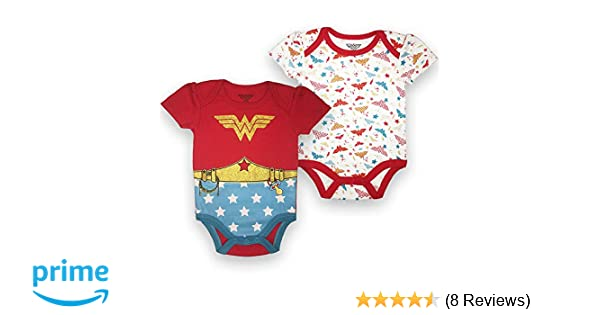 NEW Baby Supergirl One Piece Sizes 0-3 /& 6-9 Month Girl Power Bodysuit DC Comics