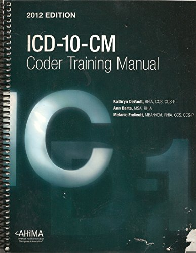 Icd-10-cm Coder Training Manual (With Answers Key)