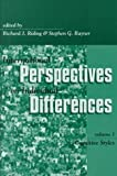 International Perspectives on Individual Differences, , 1567504582