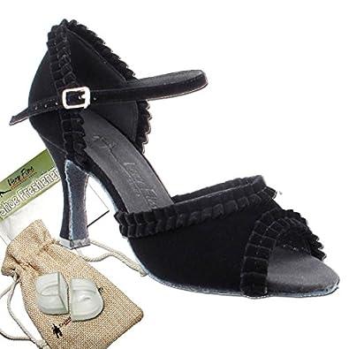 02a19b8901dad best Women s Ballroom Dance Shoes Tango Wedding Salsa Shoes Sera7001EB  Comfortable-Very Fine 2.5