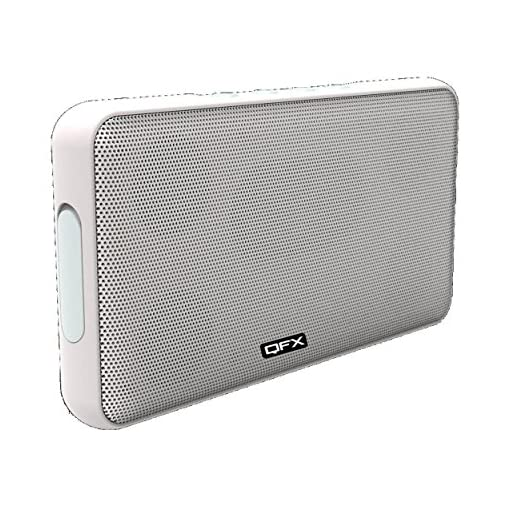 QFX Boom Portable Wireless Bluetooth Speaker With FM Radio