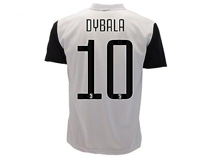 Camiseta Jersey Futbol Juventus Paulo Dybala 10 Replica Autorizado 2017-2018 Niños Adultos (Talla