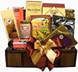 Delight Expressions Treasured Snacks Gourmet Food Gift Basket - A Holiday Gift Basket Idea