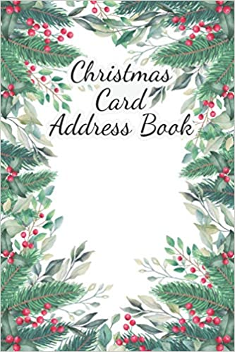 Current Christmas Cards 2020 Christmas Card Address Book And Tracker: christmas card record