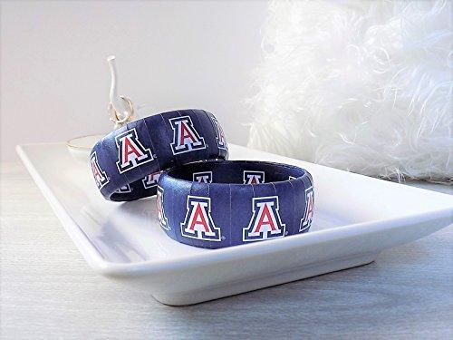 (Arizona Wildcat Bracelet - Bear Down Jewelry - Graduation Gift - College Bracelet - Arizona Wildcats - Officially Licensed Jewelry)