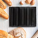 Silicone Baguette Pan - Non-stick Perforated