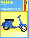Vespa Scooters 90, 125, 150, 180 and 200cc Owner's Workshop Manual (Motorcycle Manuals) by Clew, Jeff (1988) Paperback