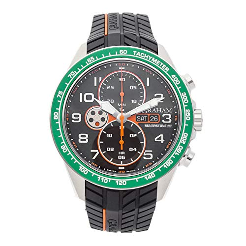 Graham Silverstone Mechanical (Automatic) Black Dial Mens Watch 2STEA.B11A.K98F (Certified Pre-Owned)