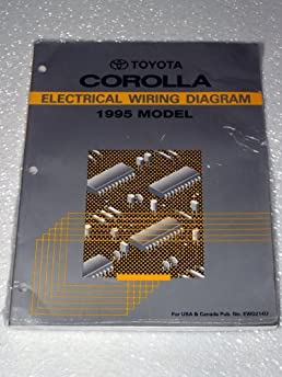 1995 toyota corolla electrical wiring diagram ae101 102 series rh amazon com Japan Toyota Corolla AE101 AE100 Corolla