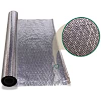 2500 sqft Diamond Radiant Barrier Solar Attic Foil Reflective Insulation 4x625