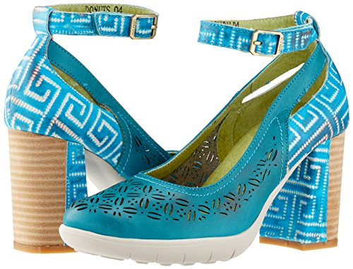 turquoise Donuts Laura Tobillo Turquoise De Vita 04 Turquesa Mujer Tira 55rw8H