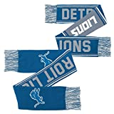 NFL Youth Boys Scarf-Lion Blue-1 Size, Detroit Lions