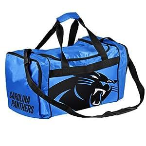 NFL Carolina Panthers Core Duffle Bag, Medium, Blue