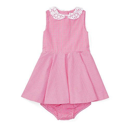 Ralph Lauren Baby Girls' Gingham Cotton Shirtdress & Bloomer (9 ()