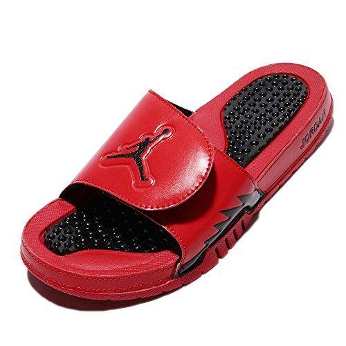 Nike Mens Jordan Hydro V Retro, Universiteit Rood / Zwart-zwart, 15