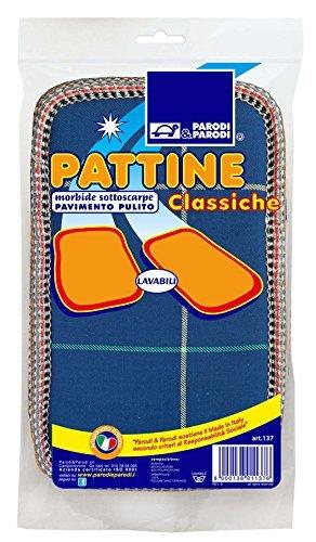 17 opinioni per Pattine, pattine classica per pavimento misura unica, pattine per pavimento